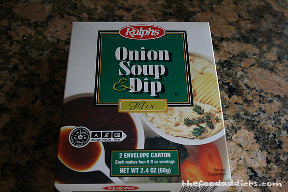 The key ingredient that gives it flavor is simply in this box - Onion Soup & Dip. Use one package in here per 2 lbs of meat. Also add in 2 eggs and 2 tablespoons of worsheshire sauce. If desired, add a few cloves of finely chopped garlic.