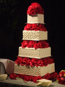 Hopefully this will be what our cake looks like!