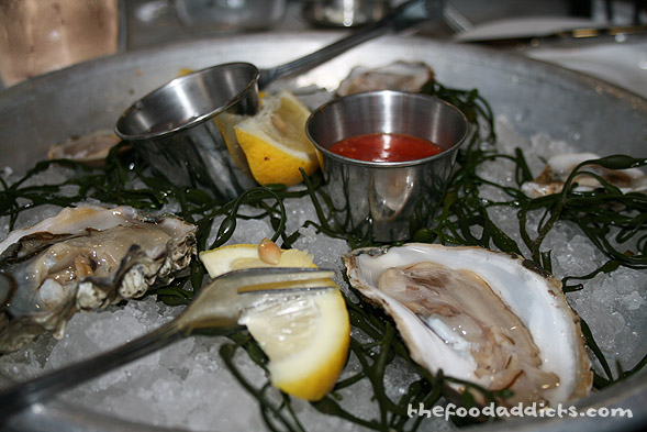 Our oyster platter was surprisingly fresh and delightful. I was actually craving oysters, since the last time I had it was in New York!
