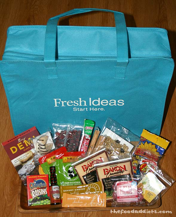 Leave a comment on this post for your chance to win this blue bag full of samples and treats from the IFT Food Expo!