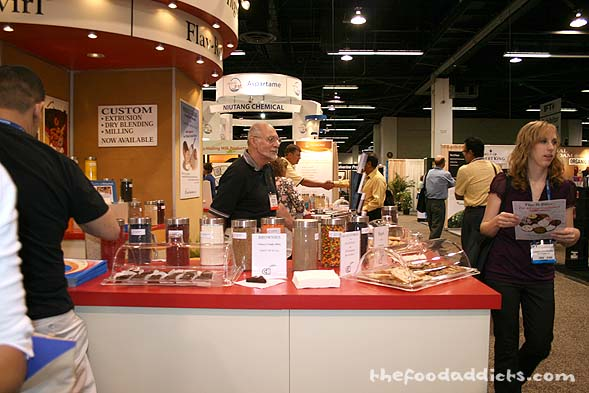 There were hundreds of companies that were represented at the convention, such as ConAgra Mills, Land O Lakes, Lee Kum Kee, California Almonds, and more. It was jam packed with exhibitors!