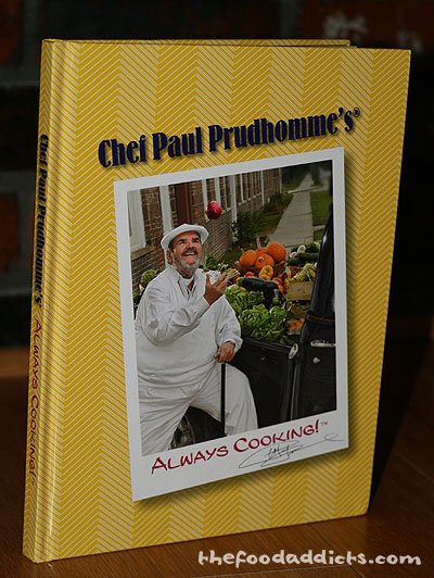 August Giveaway: Chef Paul Prudhomme's Cookbook