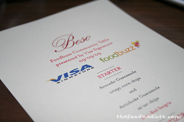 The Foodbuzz Community Table was sponsored by Visa Signature and Foodbuzz. It was a great event, and we hope they come to LA more often!