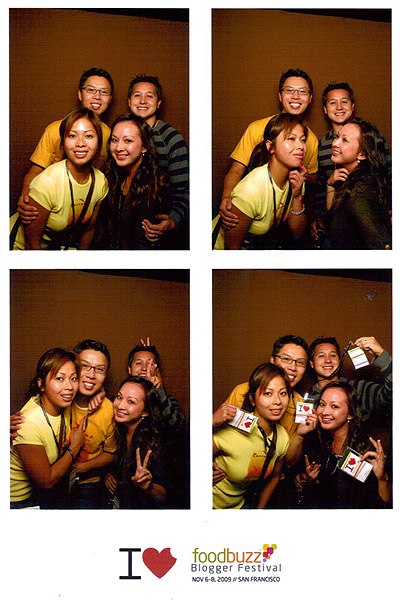 On top of the eating and drinking, there was a photo booth for our picture-taking pleasure. Foodies-4-Lyfe.