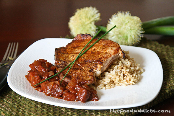 Easy quick pork chop rice recipes