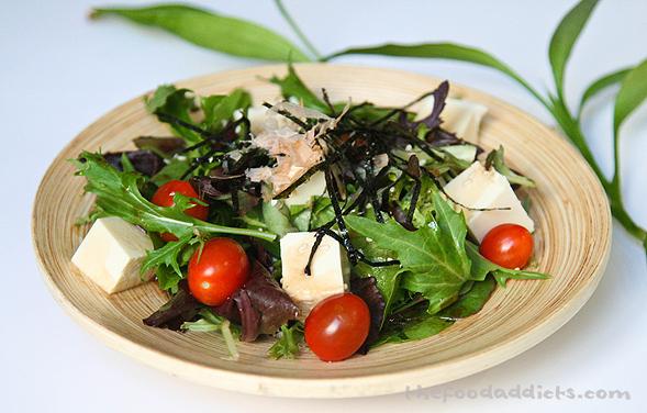 Tags: ponzu dressing , salads , soft tofu , tofu salad