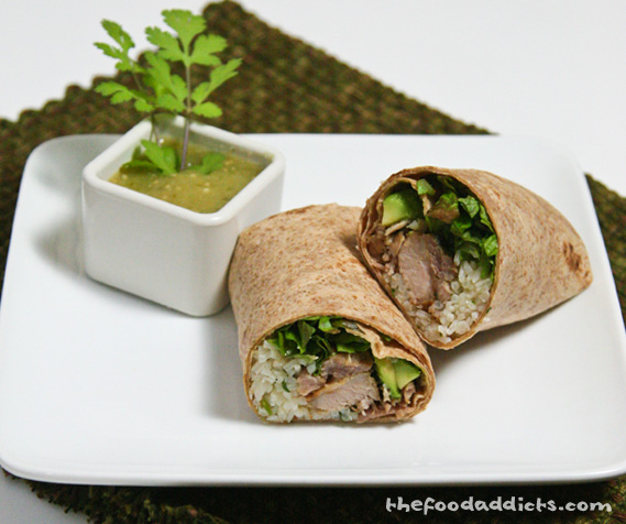 ... this recipe, click here: Carnitas Burrito with Tomatillo Salsa Verde