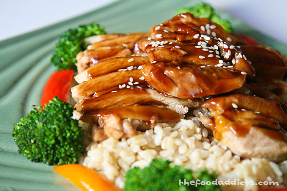 The Food Addicts » Orange-Infused Teriyaki Chicken