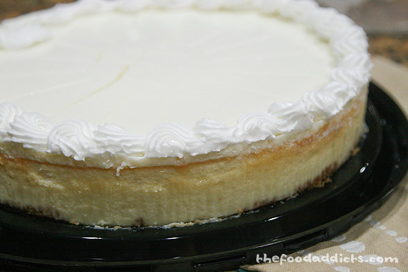 You can buy any cheesecake you like; we opted for the big one at Costco. This helps save you a ton of time from making the actual cheesecake. But if you want to make it from scratch, be my guest.
