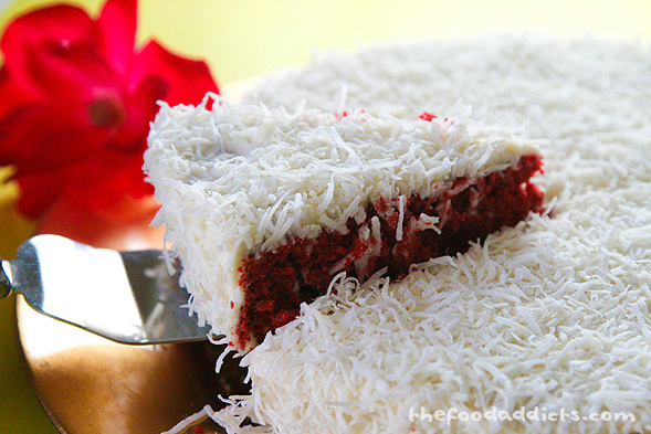 Red Velvet Cake With Coconut Cream Cheese Frosting Recipe # | 2016 Car ...